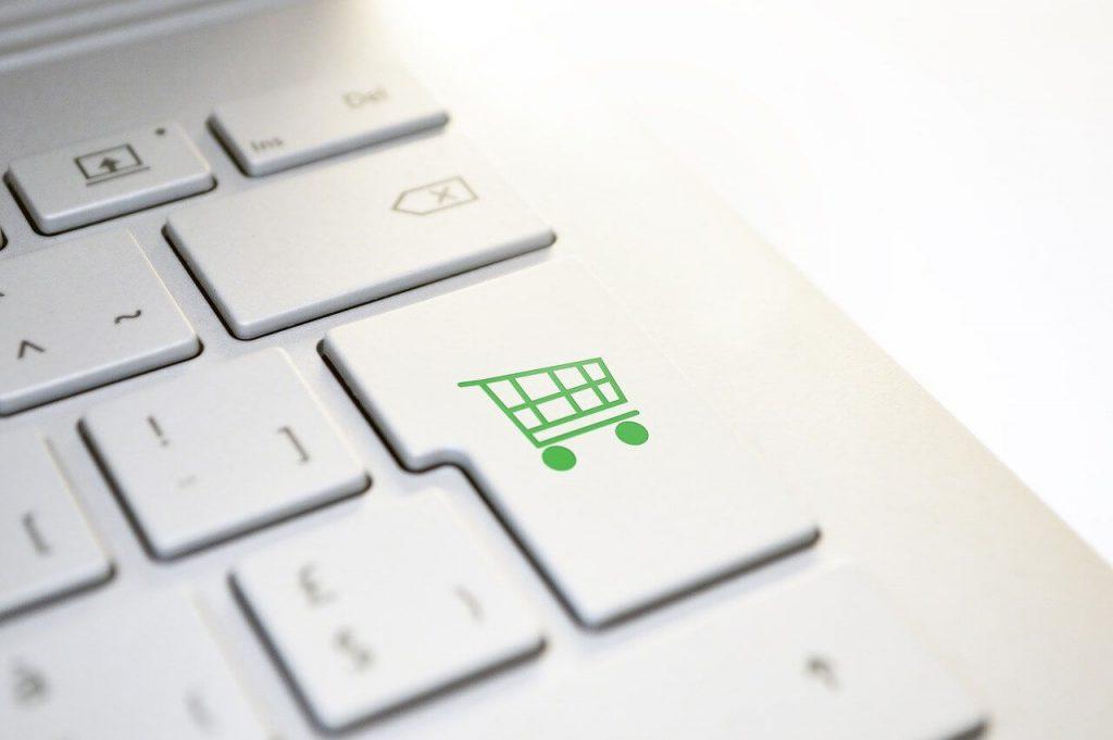 Klawiatura z klawiszem zakupów