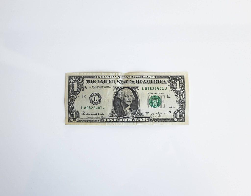 Zdjęcie dolara amerykańskiego