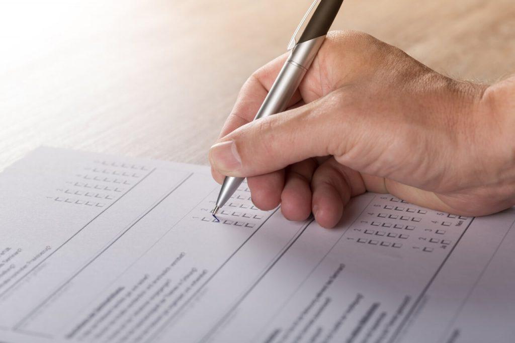 Wypełnianie formularza