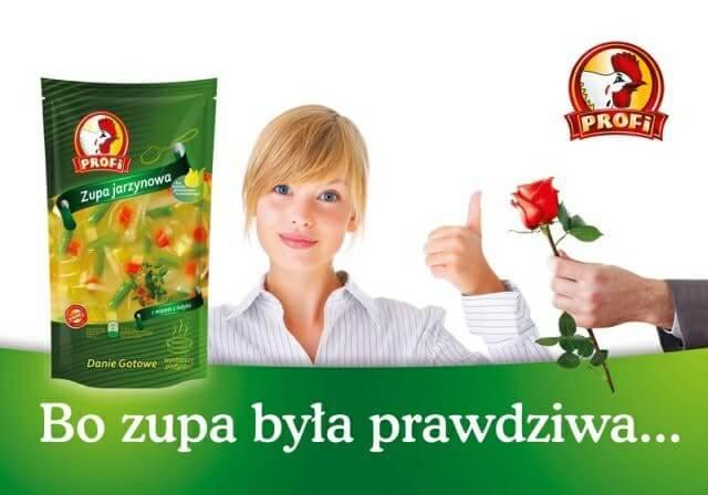 Reklama zupy Profi