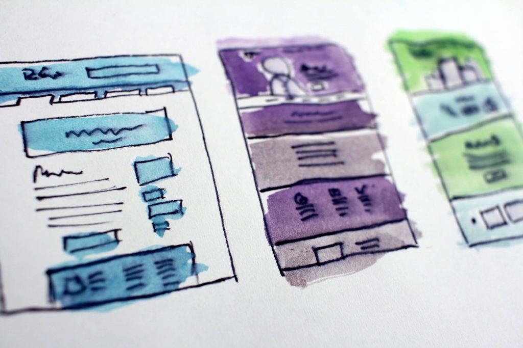 Kolorowe tabelki rysunkowe